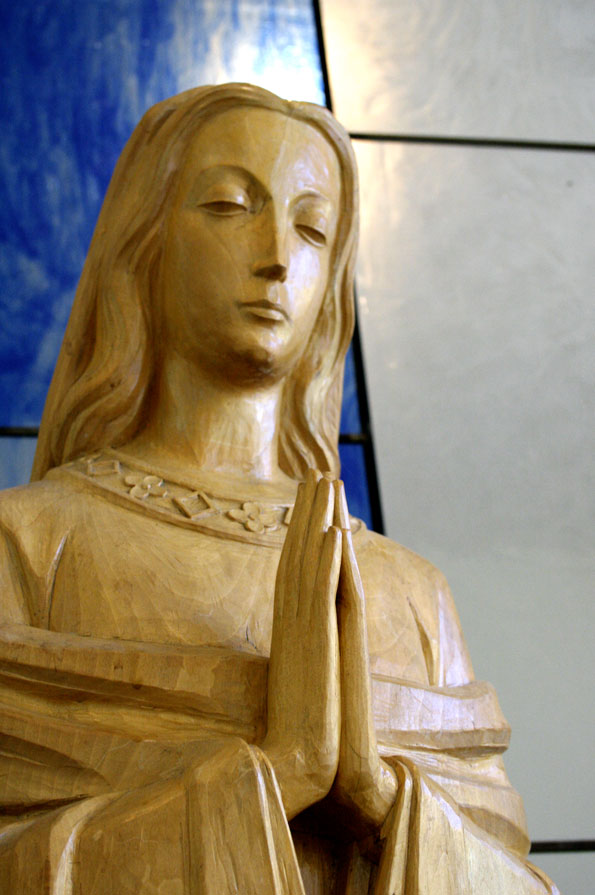 Mary Statue