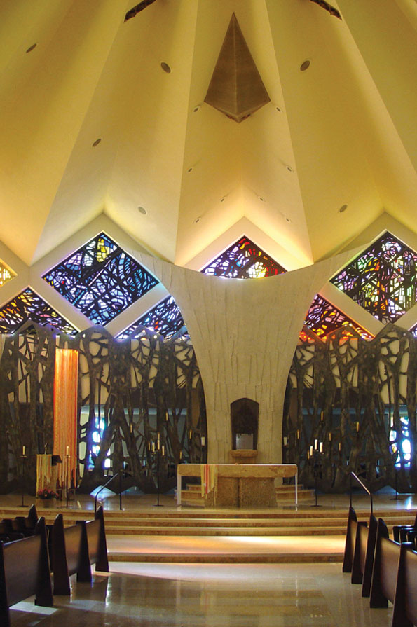 Queen Rosary Chapel Interior